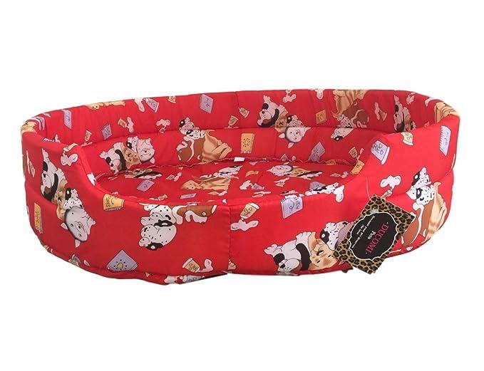 Ducomi® fufy - Cuna para perros y gatos de Oxford de Oxford - blanda Caseta para mascotas - Fácil de Lavar: Amazon.es: Productos para mascotas