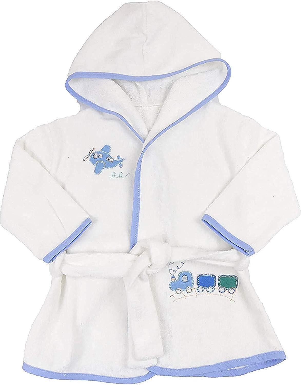 Gerneric Albornoz de beb/é 100/% algod/ón de rizo toalla 6 meses a 3 a/ños