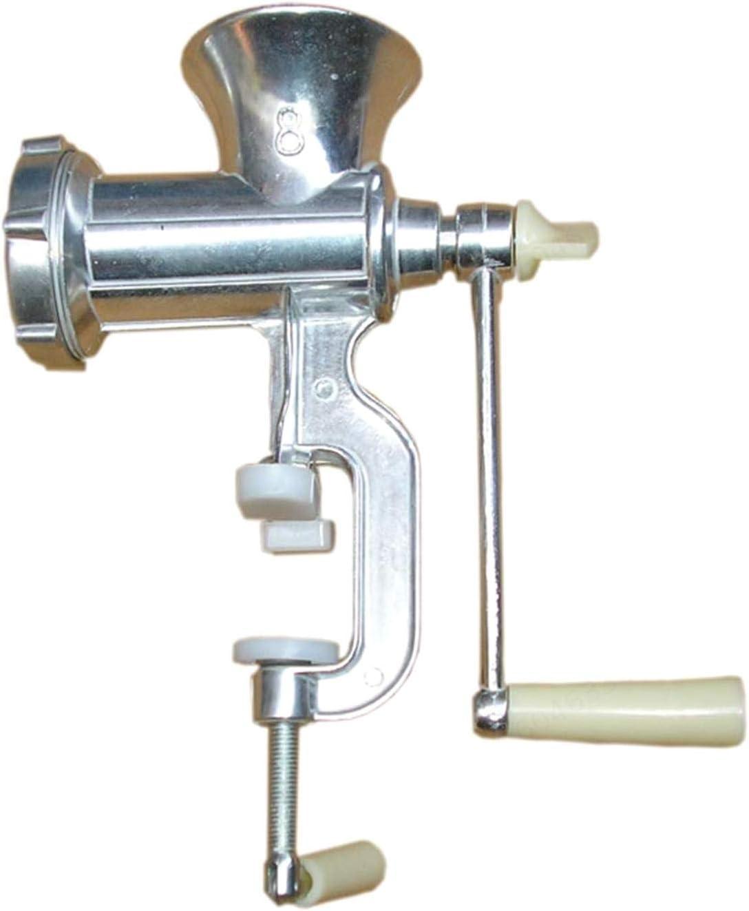 LNIEGE Duradera Manual de Acero Inoxidable máquina de Picar Carne para el hogar Máquina de procesamiento de Hecho