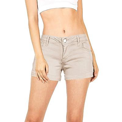 Celebrity Pink Women's Juniors Casual Cuffed Shorts | Amazon.com