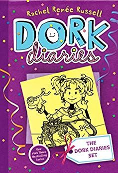 The Dork Diaries Set: Dork Diaries Books 1, 2, 3, 3 1/2, 4, and 5 by [Russell, Rachel Renée]