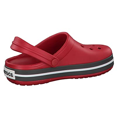 Pepper//Graphite CHILDREN/'S CROCBAND CROCS CLOGS 204537 Relaxed Fit