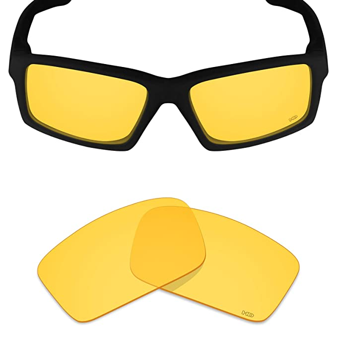 6484e6aa82 Mryok+ Polarized Replacement Lenses for Oakley Twitch - HD Yellow ...