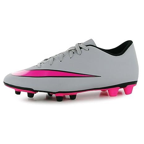 cheap for discount e0f56 d8b45 Nike Merc Vortex FG Firm Ground scarpe da calcio da uomo grigiorosa di  calcio