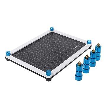 XXguang Soporte magnético PCB ajustable impreso circuito placa de circuito tornillo de banco soldador montaje abrazadera de soporte móvil pilares: ...