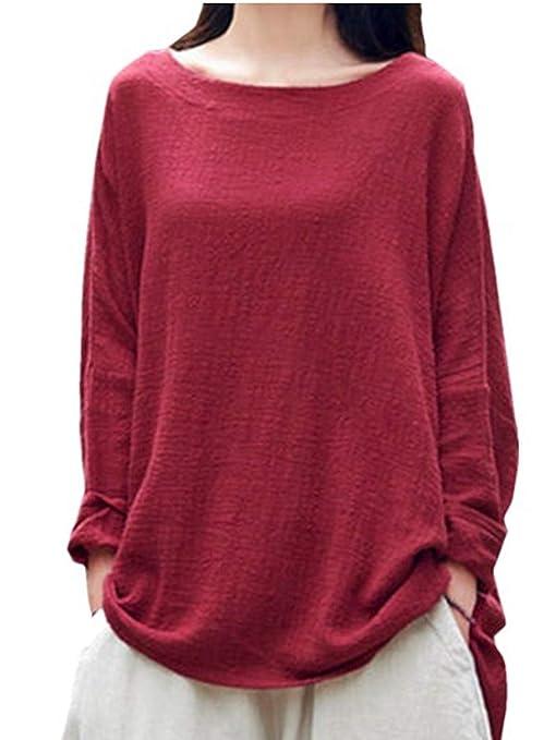 ... Elegante Camiseta de Mujer con Hombros Camisetas Casuales de Manga Corta Tops Blusa de Corbata Blusas sin Tirantes de Niña: Amazon.es: Ropa y accesorios