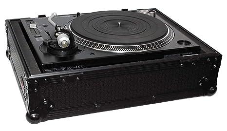 proX negro Universal DJ giradiscos vuelo funda Road Ready Case ...