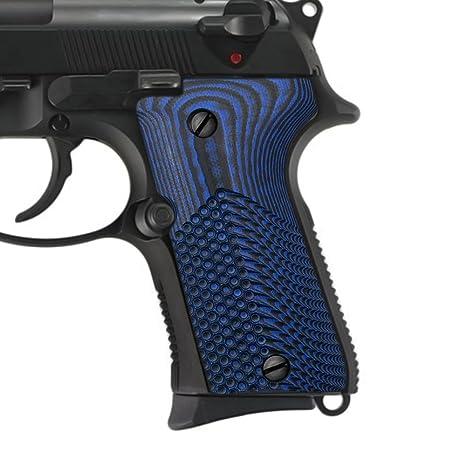 Cool Hand G10 Grips for Beretta 92/96 Compact, Sunburst/OPS/Wave Texture