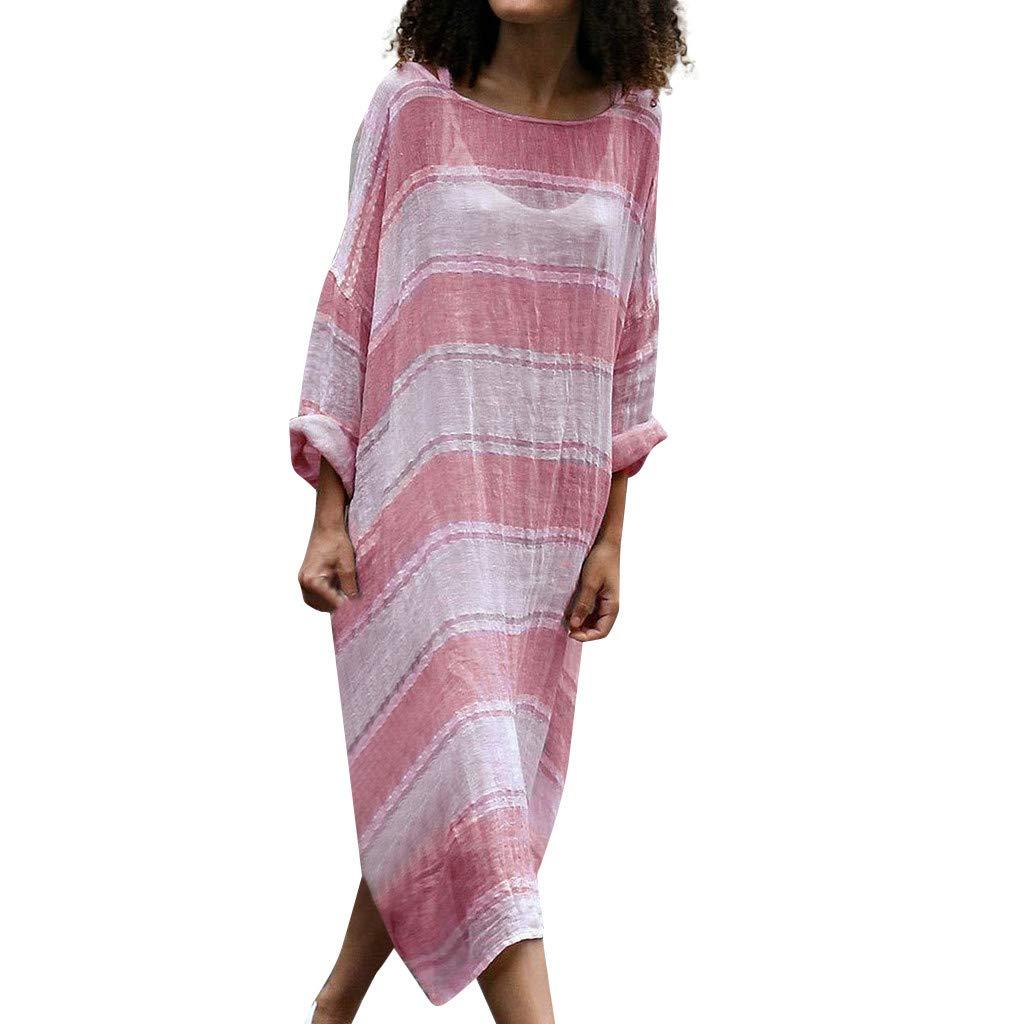 Women Spring Plus Size Casual Linen Skirt