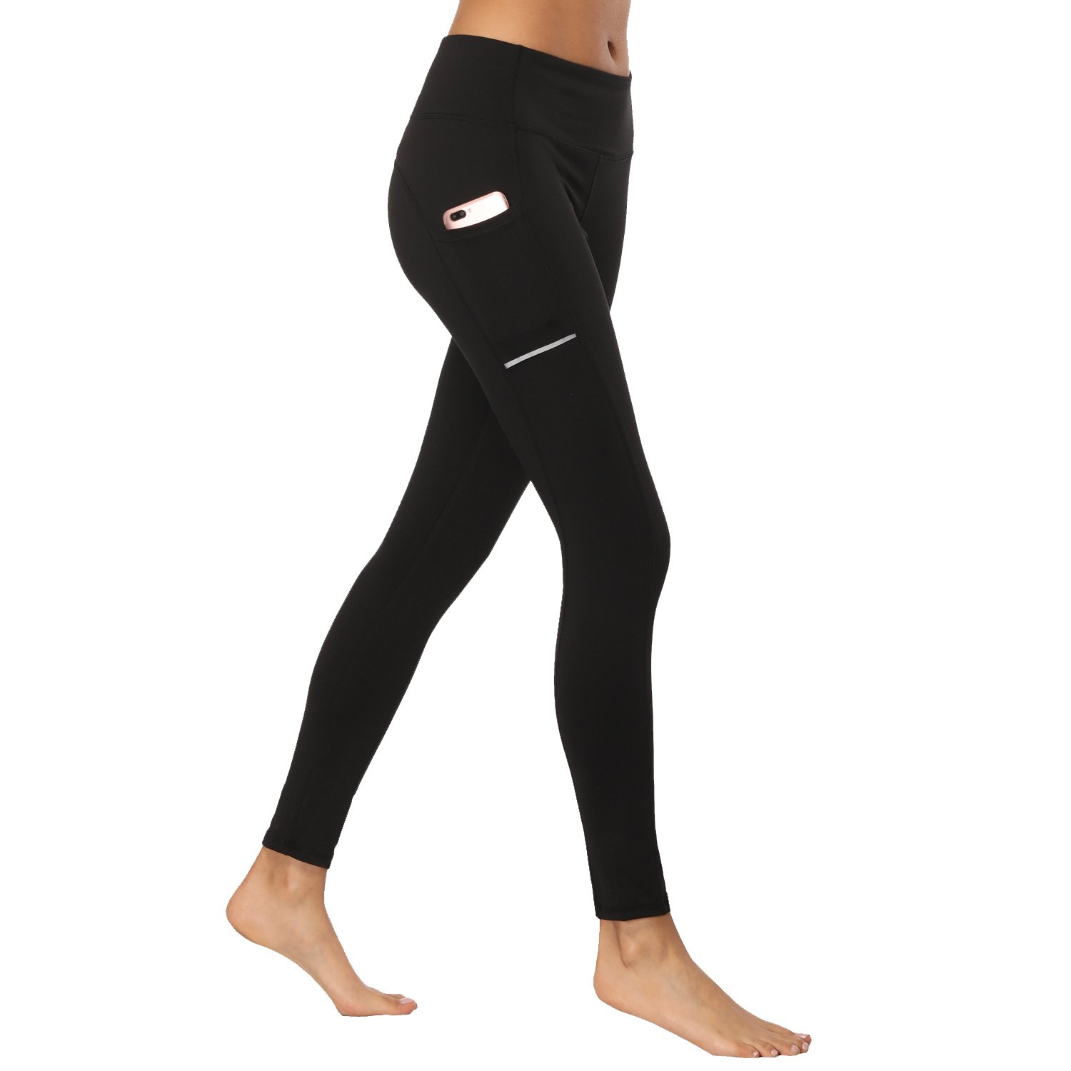 d29ebd7558725d LEGGINGS WITH POCKETS:The pockets are large enough to hold a phone. And no  more worry about your essentials such as wallet, sweat towel when doing  every ...