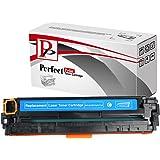 PerfectPrint Compatible Virador Cartucho Reemplazo Para HP LaserJet Pro 200 Color -M-276n 276nw CF211A 131A (Cian)