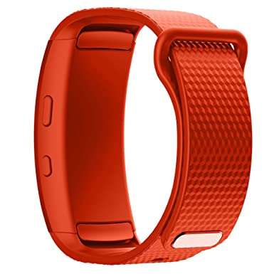 Amazon.com: Jewh Watch band 2017 - Luxury sport Silicone Watch - Replacement wrist Band - bracelet Strap For Samsung Gear Fit 2 SM-R360 watch ...