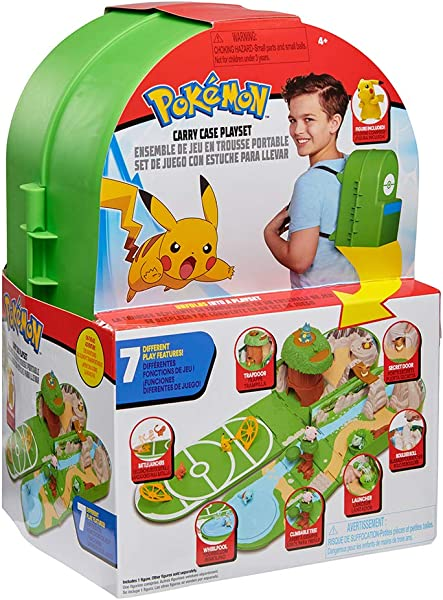 Pokémon Carry Case Playset toy for kids in package