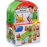 """Pokemon Carry Case Playset, Feat. Different Locations Within One Playset, with 2"""" Pikachu Figure, Plus Accs Like Treetop…"""