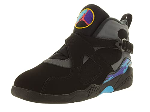 532210667674a1 Jordan Retro 8 quot Aqua Black True Red-Flint Grey-Bright Concord (