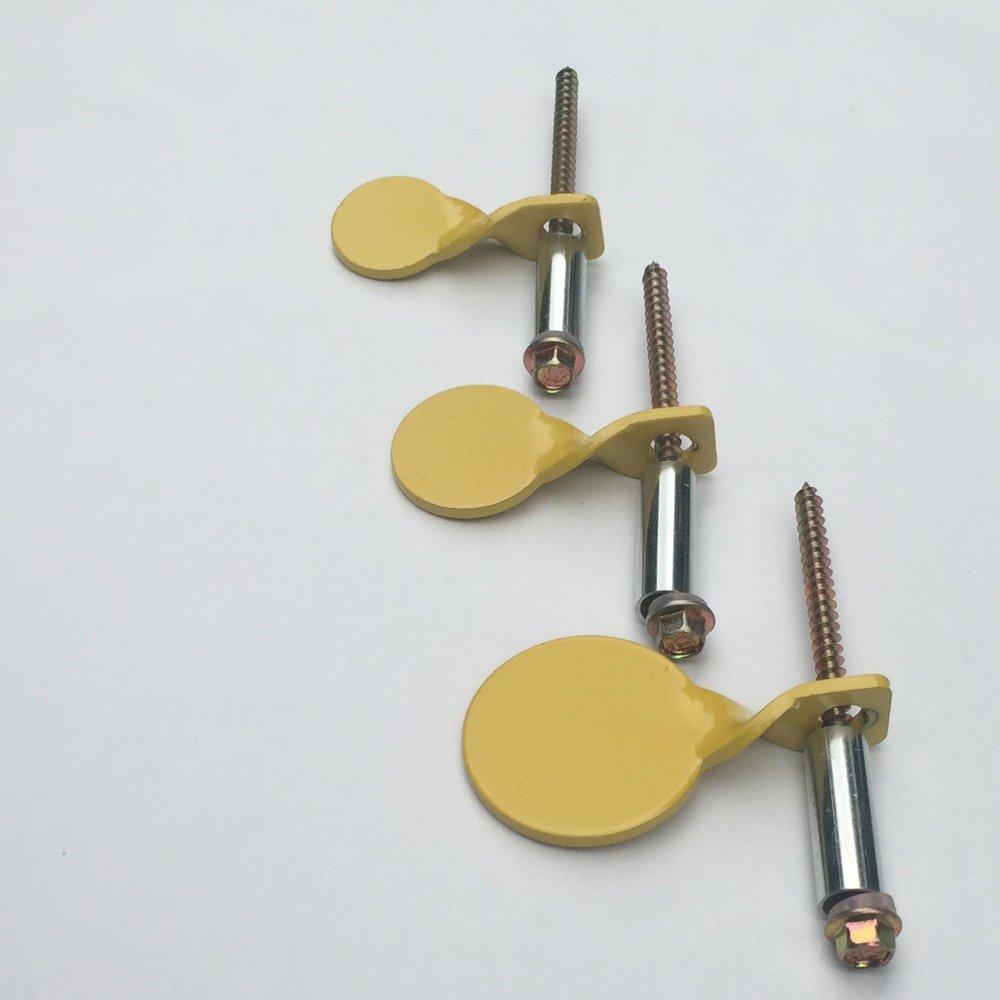3 mm 3 cm de grosor TARGET HOUSE Placas objetivo de caza de 2,5 cm de di/ámetro