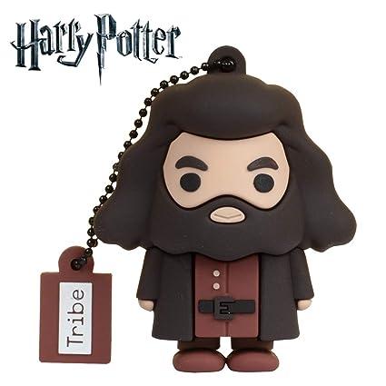 Llave USB 16 GB Rubeus Hagrid - Memoria Flash Drive 2.0 Original Harry Potter, Tribe FD037508