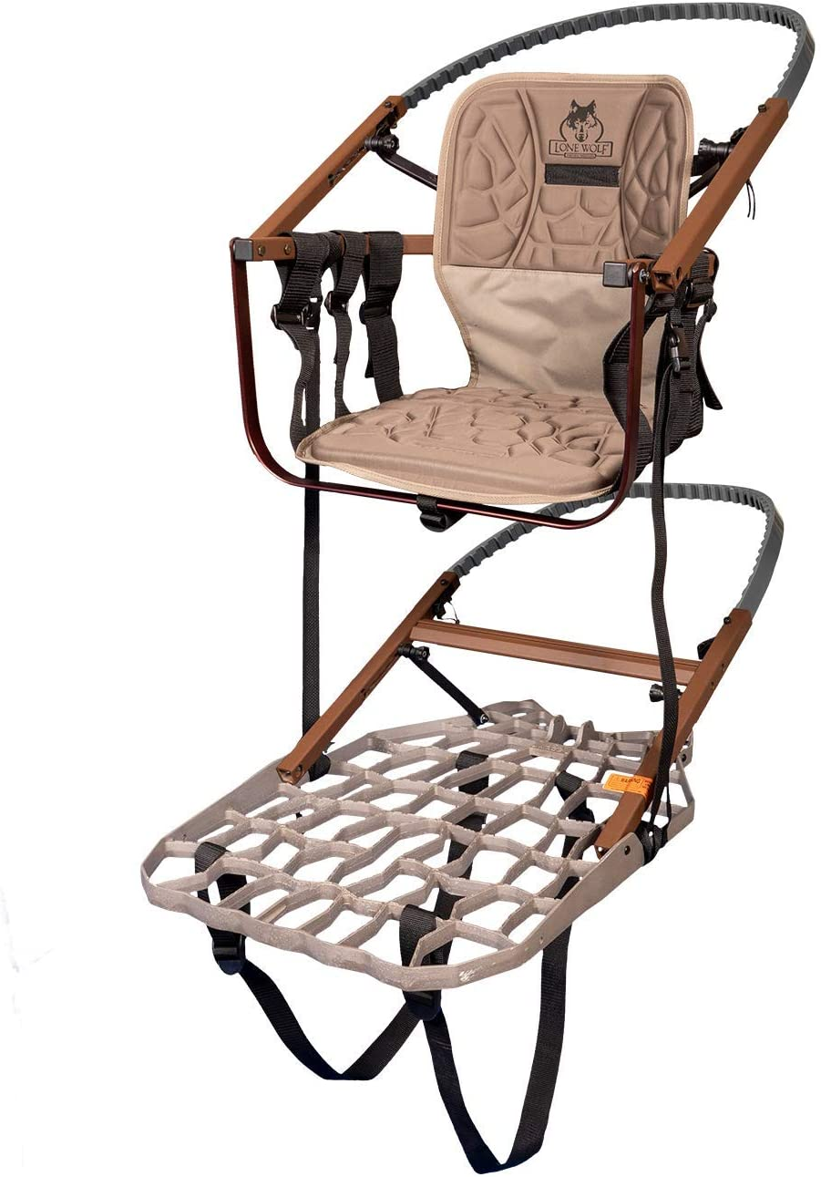 Lone Wolf Sit & Climb Combo II with a seat