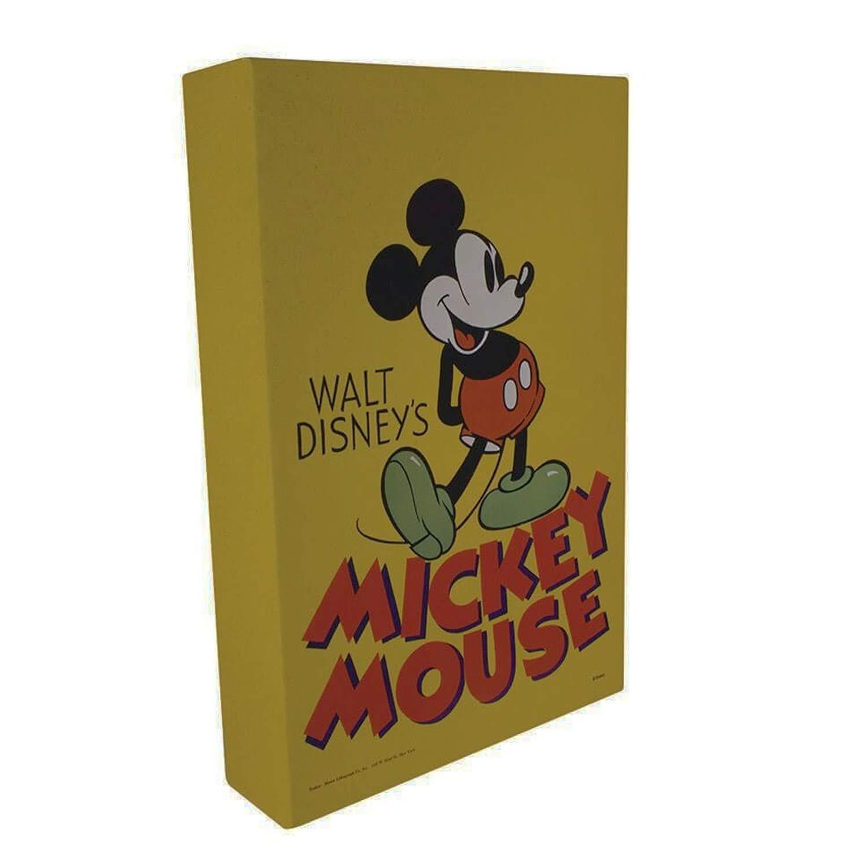 Mickey Souris Mouse LuminArt Lampe Retro officiel Disney Paladone