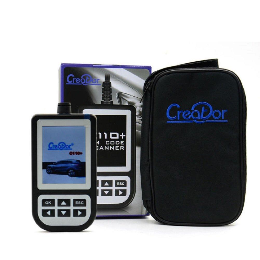 Autool Creator C110/V4.4/Auto OBDII lector de c/ódigos de error para BMW//Mini herramienta de diagn/óstico para BMW principal de base con cable
