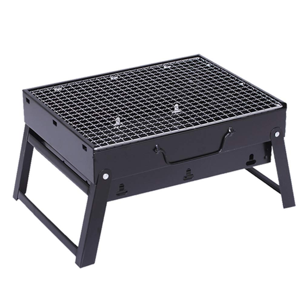 Dygzh Camping Grill BBQ Grill Portable Lightweight Simple Collapsible Advanced Outdoor Camper BBQ Lovers Travel Park Beach Wild Etc Suitable for Camping Outdoor Gardens by Dygzh