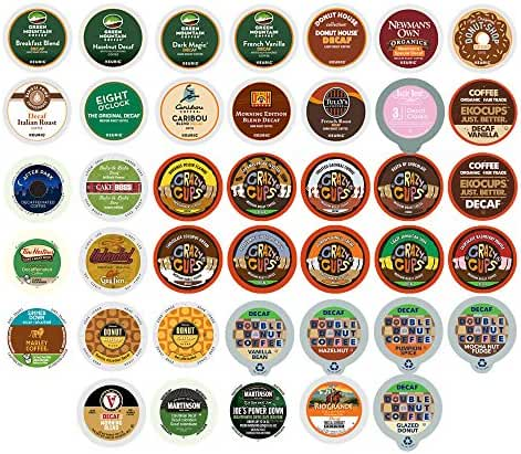 Decaf Coffee Single Serve Cups for the Keurig K Cups 1.0 and 2.0 Brewer, 40 Count