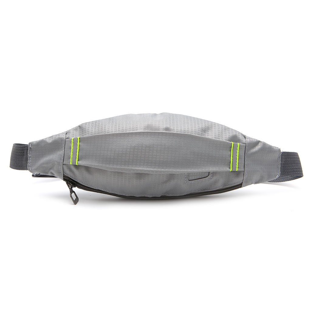 Redriver Nylon Waist Bag Sports Running Cycling Jogging Hiking Packs Grey