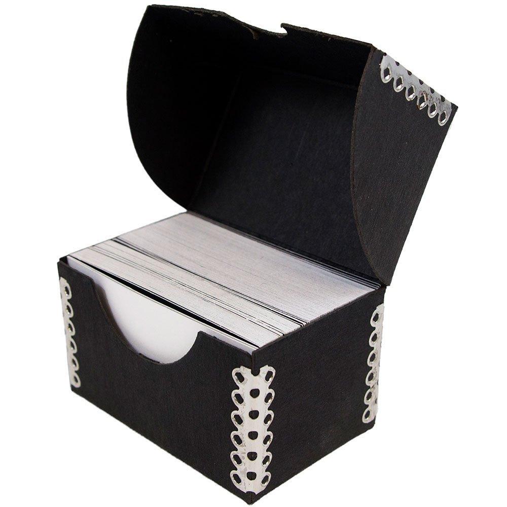 Amazon.com : JAM Paper Business Card Box with Metal Edge - 2 1/4\