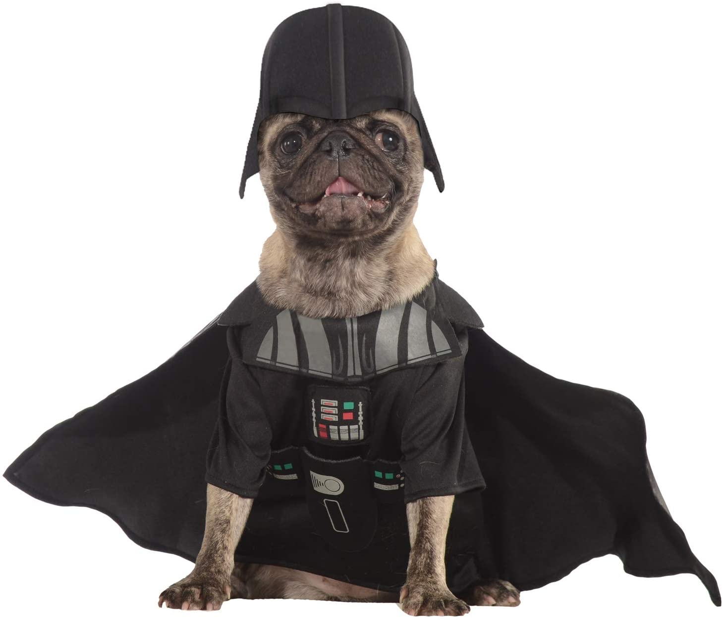 Star Wars - Disfraz de Darth Vader para mascota, Talla S perro (Rubie's 887852-S)
