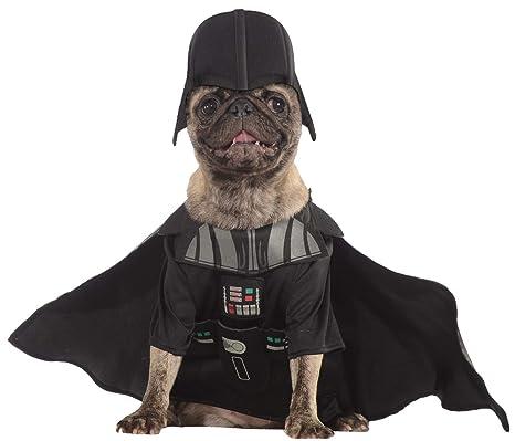 Star Wars - Disfraz de Darth Vader para mascota, Talla M perro (Rubies 887852-M)