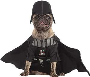 Star Wars - Disfraz de Darth Vader para mascota, Talla M perro ...