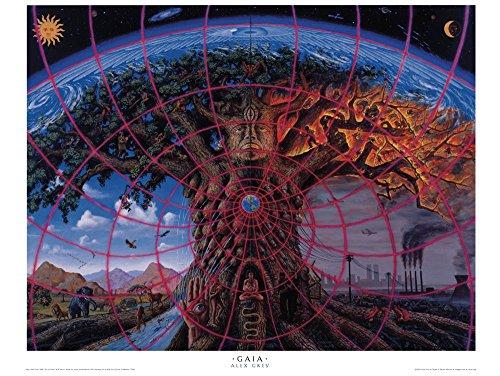 Alex Grey – Gaia – Poster