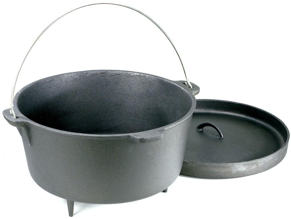 Stansport Cast Iron 20 Quart Dutch Oven