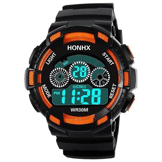 Relojes hombre deportivos,KanLin1986 reloj impermeable relojes inteligentes de hombre correa smartwatch relojes sumergibles baratos fitness reloj ...