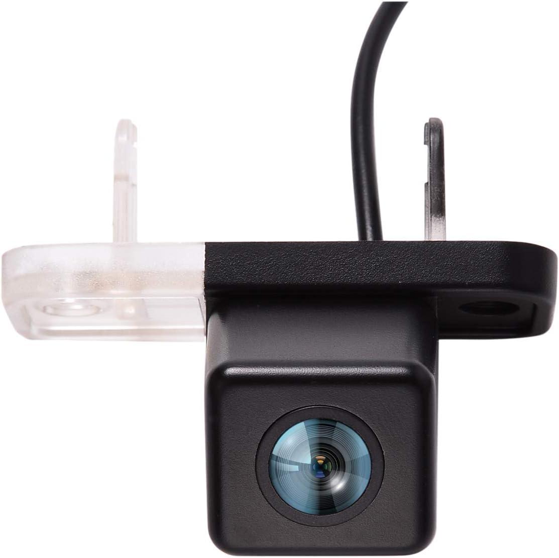 CUHAWUDBA Rear View Camera Night-Vision Waterproof Parking Reverse Camera for Mercedes Clk W209 W203 W211 W219