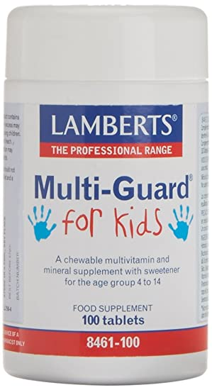 Lamberts MultiGuard for Kids - 100 Tabletas: Amazon.es: Salud y cuidado personal