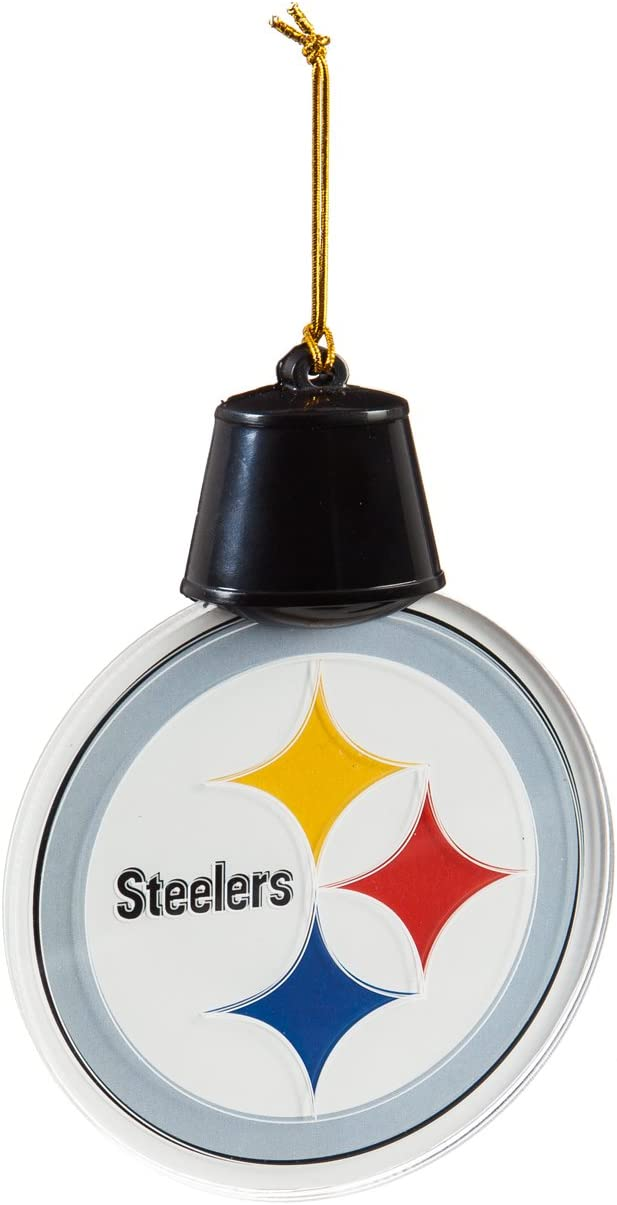 Team Sports America NFL Radiant Lit Acrylic Team Icon Ornament