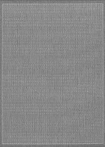 Recife sillín diseño gry-wht alfombra 70en x 110en