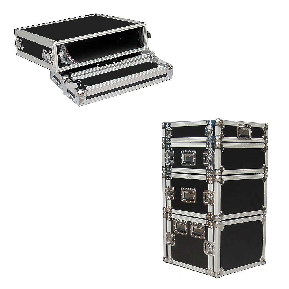 2 Space 2u 18 Inches Deep Heavy Duty 3/8 Ply ATA Amp Rack Case - Closeout Roadie Products Inc.