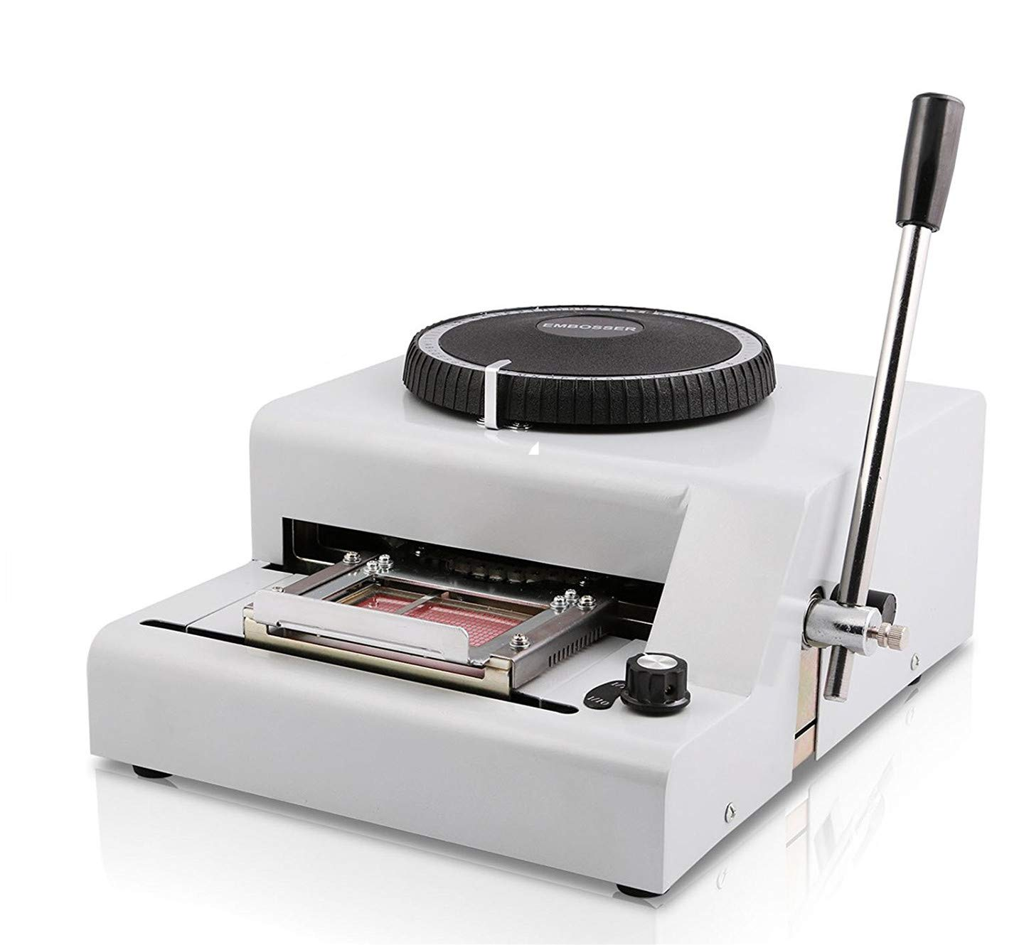 SHZOND Embossing Machine 72 Characters Card Embosser Printer Gift Card Credit ID PVC Card Embosser Stamping Machine Manual Embosser Machine by SHZOND