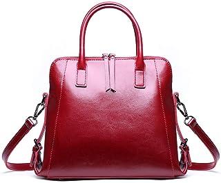 Niustore Niustore-691211121973, Sac à main pour femme Rouge Red Large