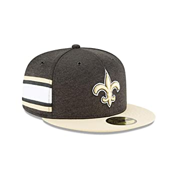 New Era New Orleans Saints NFL Sideline 18 Home On Field Cap 59fifty Fitted  OTC 576bef225