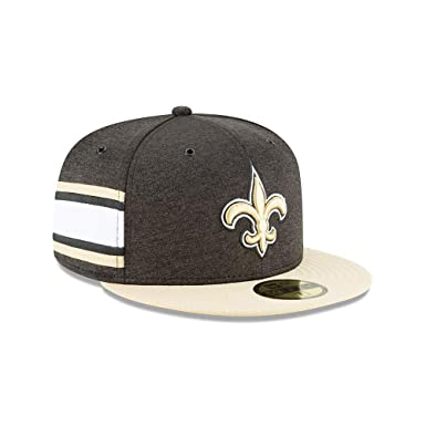 New Era New Orleans Saints NFL Sideline 18 Home On Field Cap 59fifty Fitted  OTC 90198ee8295
