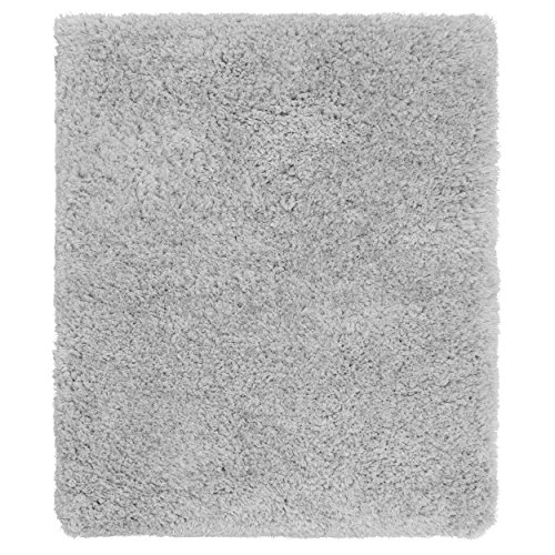 Price comparison product image Vista Living Claudia Shag Area Rug 8ft. x 10ft., Light Silver