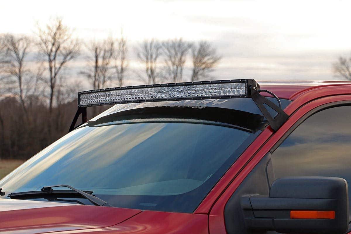 "52/"" LED Upper Windshield Mounts Light Bar Brackets for Ford 2004-2014 F-150 50/"""