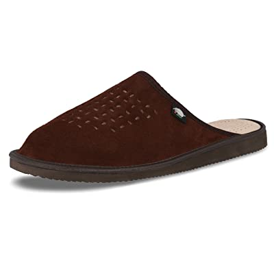 Compensées Touch Ecoslippers Femme GreenSandales Marron Suede Nw8nvOm0