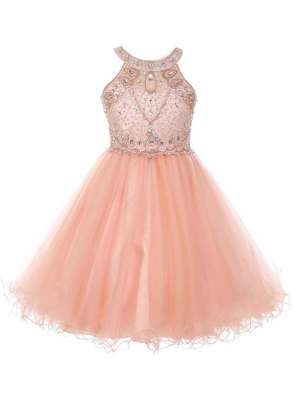943f6f5962a2 Junior Bridesmaid Dresses Blush