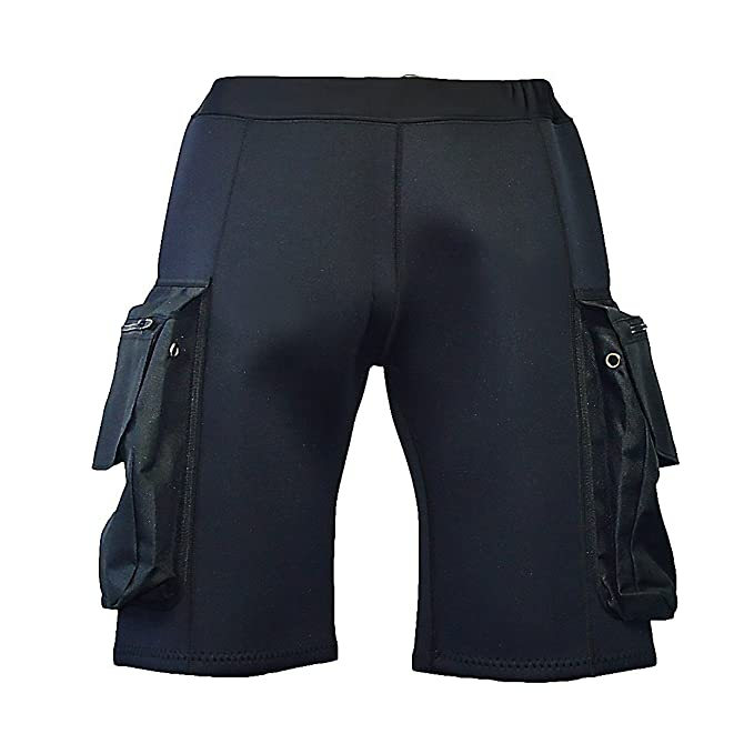 Typhoon 3mm Canoe Neoprene Kayak Dinghy Cycling Wetsuit Shorts Black Watersports