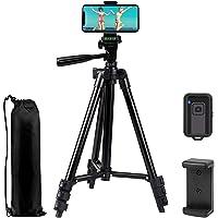 Telefonstativ EVERESTA 42 tum 360 flexibelt smartphonestativ, använd också som kamerastativ, DSLR-stativ, video-stativ…