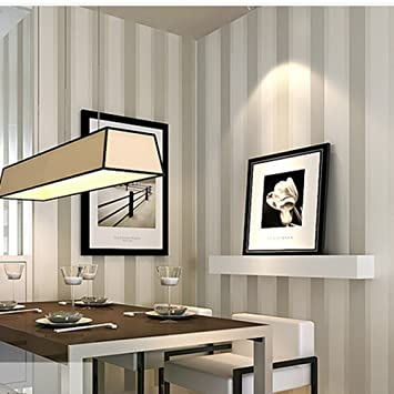 kawaicat Streifen Wall Paper Modern Vintage Vlies Papiertapete ...